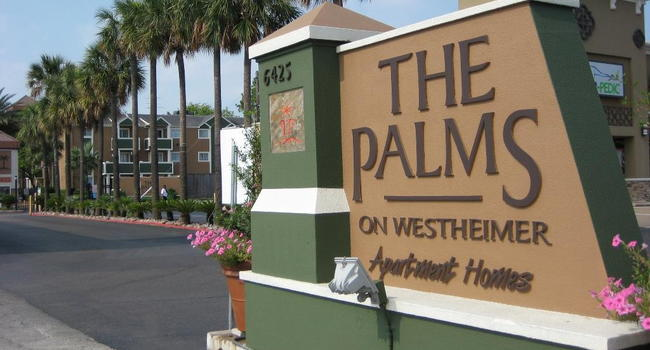 Image Of Palms On Westheimer In Houston Tx