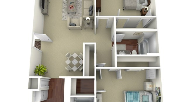 Renaissance Gardens - 45 Reviews | Fort Worth, TX Apartments