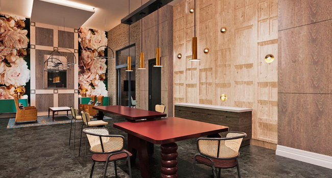Verso Founders Row Community Lounge