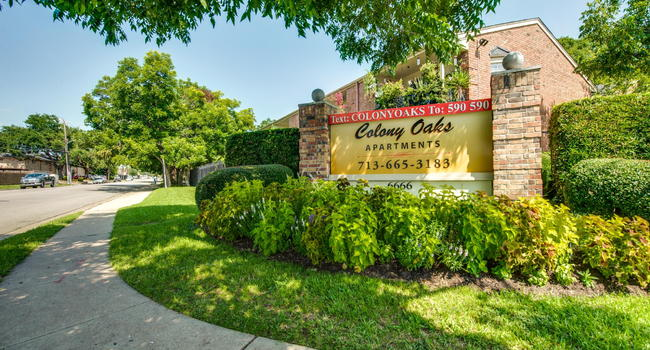 Image Of Colony Oaks Apartments In Houston TX