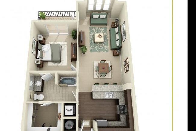 927 West Morgan Floor Plans