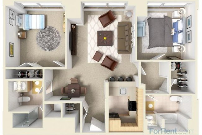 The Residences of Manchester Place - 32 Reviews ...