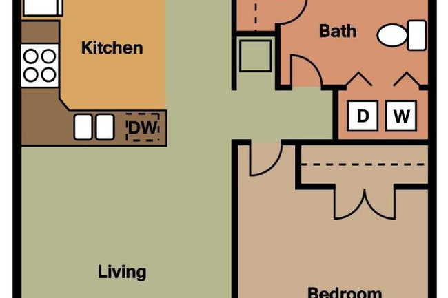 Patriot Point Apartment Homes - 5 Reviews | Spring Lake, NC